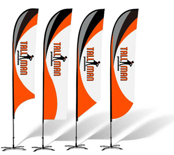 Tallman Promotions Custom feather flags
