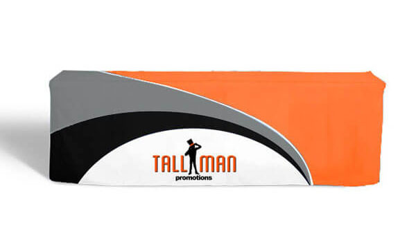Tallman custom fitted table cloth