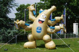 Custom Inflatable fruit banana