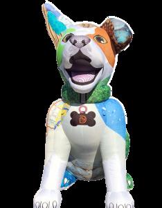 Custom inflatable dog