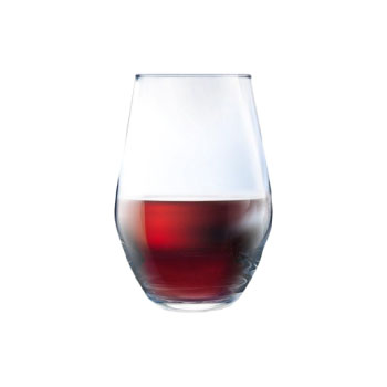 19oz stemless wine glass